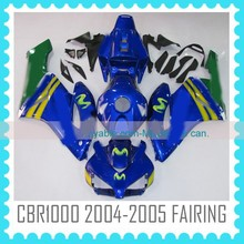 ABS Fairing body Kit headlight fairings for HONDA CBR1000RR 2004-2005 china fairings motorcycle