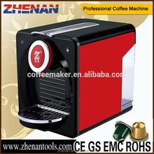Automatic Electric 2015 home appliances Italy super automatic espresso capsule coffee machine ZNCM202B