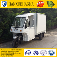 ice cream container cargo three wheel tricycle/motor bike