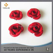Metal rose flower for crafts