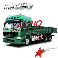 cheaper sinotruk 30 ton van cargo truck