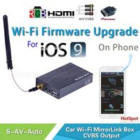 car entertainment system mirror share wifi display