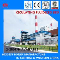 ZG 210t 6.6MPa Coal Burning CFBC Steam Bituminous Coal Boilers Coal