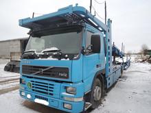 car transporter 10 cars volvo fm12 built in 2002