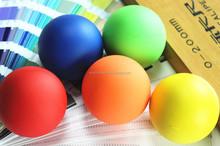 Wholesale custom color Rubber Lacrosse bouncing ball