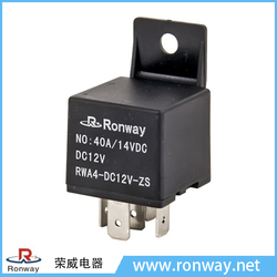 Made in China OEM 40A 14VDC protection motorcycle starter relay
