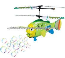 Hot 3.5CH RC Helicóptero RC Flying Fish con la burbuja