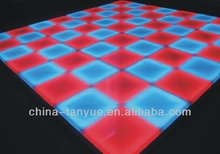 rgb color led dance floor for dj disco