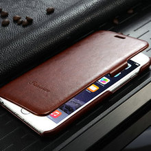 "2015 Christmas R64 Leather Case for Iphone 6 5.5"", for Iphone 6 Flip Case, Smart Mobile Case for iPhone 6 Plus"