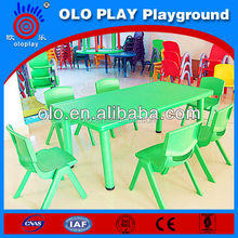 CE ISO9001 passed kids plastic table