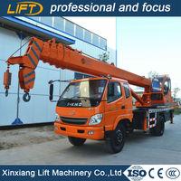 Hot Sale 3% Off Sale telescopic mini 7 ton boom truck crane