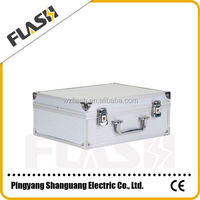 Silver Color Useful Aluminum Electrical Tools Box