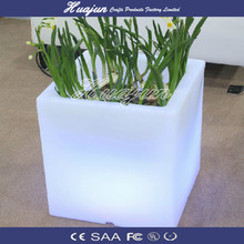 outdoor flower pots/color changing planter / light up rechargeable furniture