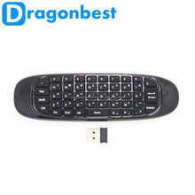Best quality T10 C120 Air Mouse 2.4GHz Wireless Keyboard witt Universal Remote Control Escrow paypal accept