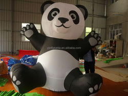 Inflatable panda for sale