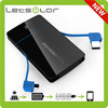 universal external portable power bank.mobile phone charger. power bank 5000mah