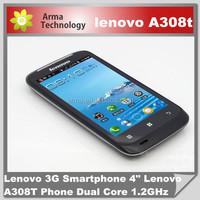Lenovo A308T Phone Dual Core 1.2GHz 512Mb 2.0Mp Camera TD-SCDMA/GSM Dual Sim cell phone