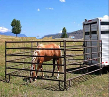 USA/Canada style livestock cattle/farm/ranch fence panel /galvanized livestock pens