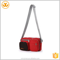 China factory supply the most popular style custom red bag messenger