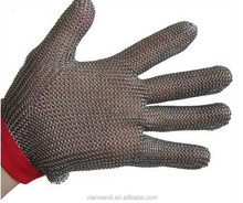 High quality stainless steel wire mesh safety cut Resistant Protection Gloves