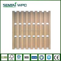 Weather resistant decorative wooden garden fencing