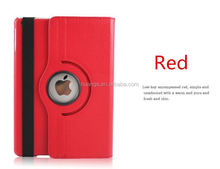 Bulk buy from china 360 Degrees Rotating Stand Leather Smart Cover Case for ipad 6 phone flip case wholesale