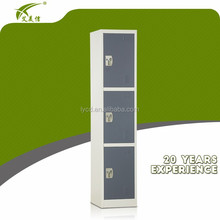 high quality 3 door locker / cheap steel locker / metal cupboard