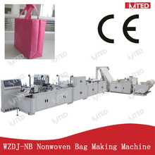 2012 WZDJ-NB800 FULL AUTOMATIC IMPRESS MULTIFUNCTION WITH FIRST MADE DOUBLE LEAD RAIL PP NON-WOVEN BAG MACHINE