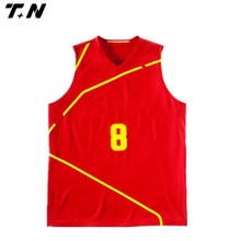 professional full sublimation basketball jersey set for team
