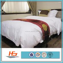 supplies hotel white cotton bedding set/comforter sets