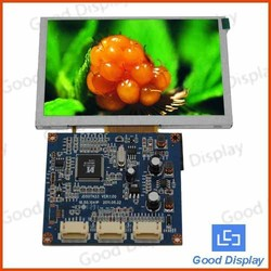 5'' high resolution tft lcd module with touch screen