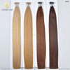 New Product Fusion Keratin Virgin Double Drawn Wholesale Double Drawn mini I tip hair extension