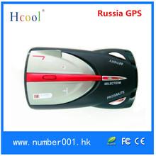 Radar Detector with Russia GPS