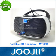 Portable Mini Boombox CD Player with USB/MP3