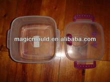 high quality rectangle keep fresh food container mould making factory