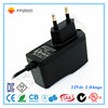 led power adapter 12V 1A AC/DC 50/60hz power adapter/supply wall mount type