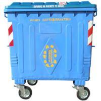 Sky Blue Metal Recycling waste Container