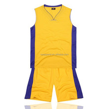 2015 New design basketball siut set for men