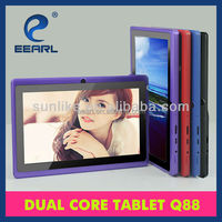 Wholesale!7'' TFT ATM7021 Dual Core 1024*600 Android 4.4 Adult Flash Games Tablet PC