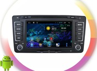 android 4.4 dvd player For Skoda Octavia RDS ,GPS,WIFI,3G,