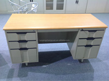 Cheap modern office secretary desk table with drawers