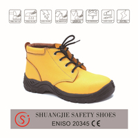 Good sale men working safety shoes with steel toe cap