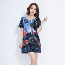 wholesale factory price print eiffel tower t shirt