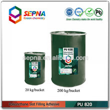building expansion joints filling low modulus polyurethane adhesive pu820