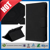C&T Luxury black new accessories for ipad pro wallet leather case