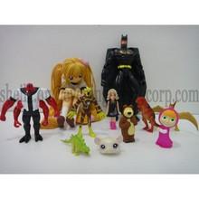 one piece pvc mini figure toy , plastic custom action figure