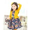novo modelo de vestido da menina de vestido coreano roupas para meninas