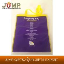Best selling non woven bags,best quality creative purple shopping bag non woven