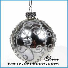 Superventas Clear glass craft adornos de bolas de cristal transparente bolas de cristal colgante claro bola