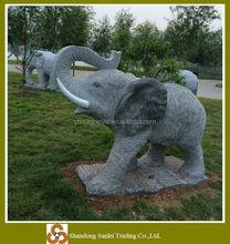 decorative carving stone granite elephant sculpture